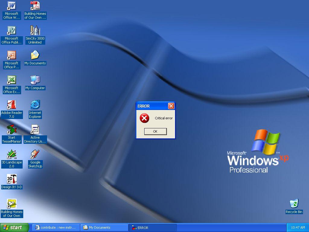 Computer Virus Desktop